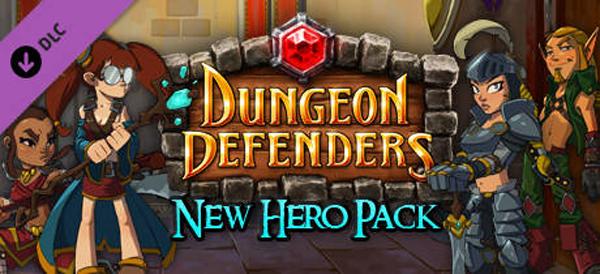 Dungeon Defenders New Hero Pack