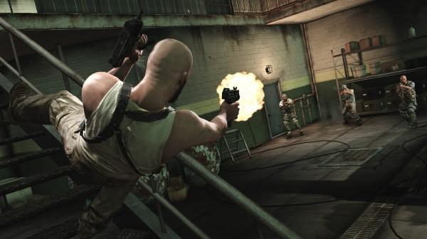 Shootdodging in Max Payne 3