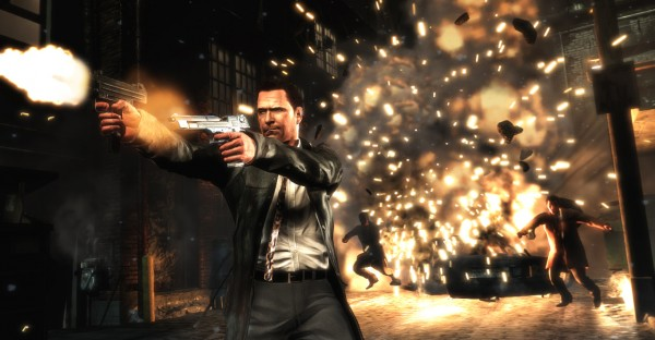 Guns and explosions in Max Payne 3