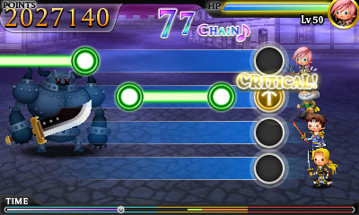 Final Fantasy characters do battle in Theatrhythm