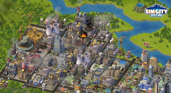 City on Fire | SimCity Social | Horrible Night