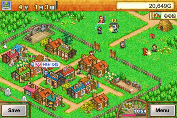 Dungeon Village Map