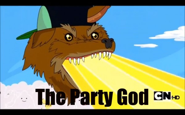 Actually, I'd totally play Wii U with the party god... somehow.