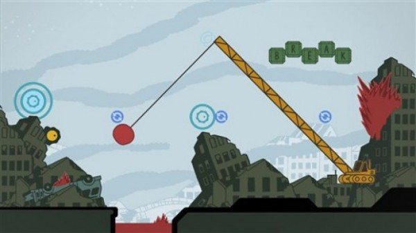 Sound Shapes shines when playing the Beck levels
