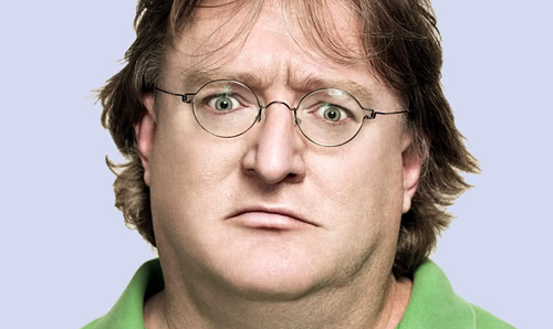 This is Gabe Newell and he's a billionaire