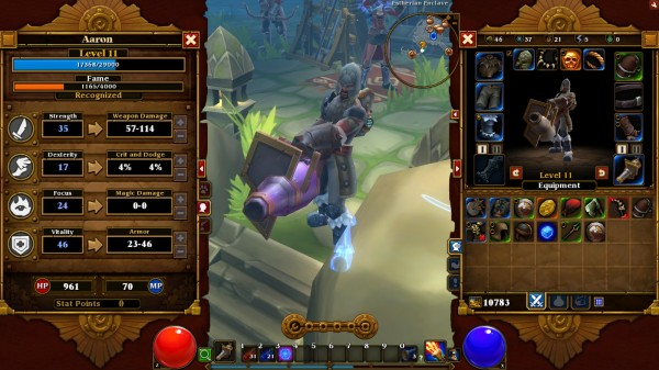 My Engineer in Torchlight 2