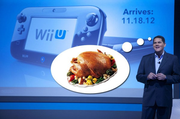 Wii U with Reggie