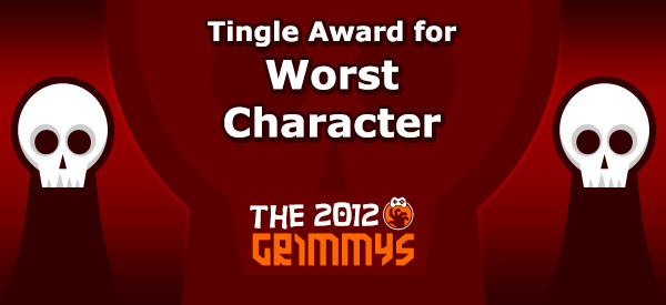 Tingle Award for Worst Character