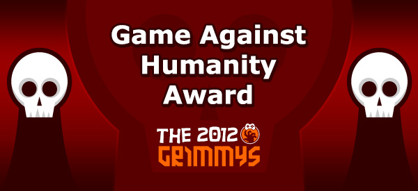 Game Against Humanity Award