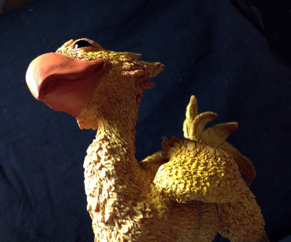 Chocobo Sculpture