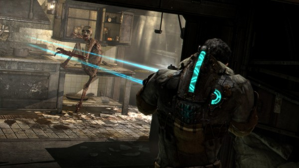Dead Space 3 Shooting