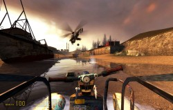 Half-Life 2 Helicopter