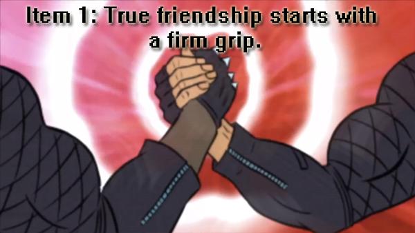 Blood Dragon Friendship
