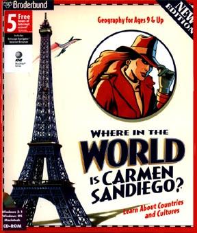 I had a crush on Carmen Sandiego?