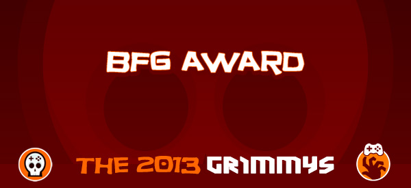 BFG Award - The 2013 Grimmys