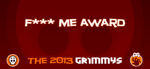 Eff Me Award - The 2013 Grimmys
