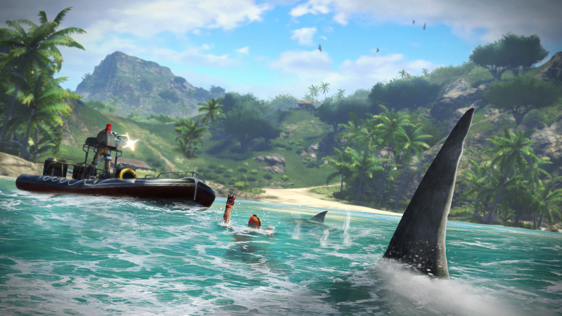 Far Cry 3 Sharks