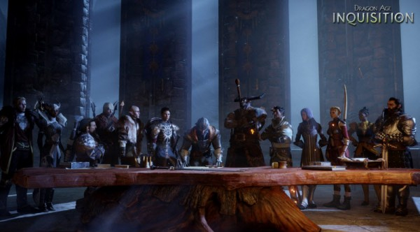Dragon Age Inquisition supper