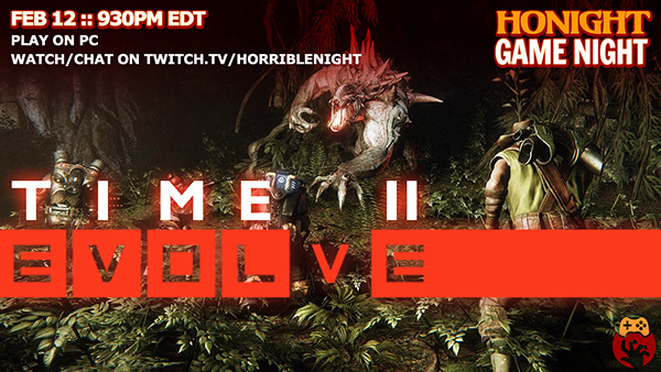 Evolve HoNight Game Night