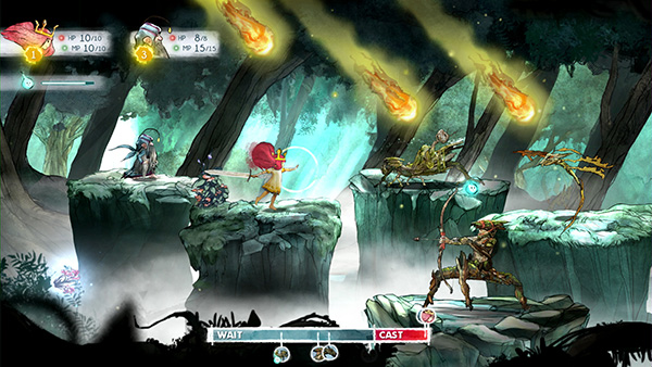 Child of Light Action