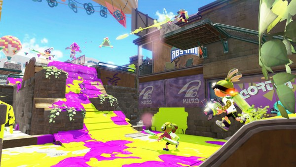 Turf Wars in Splatoon for Wii U