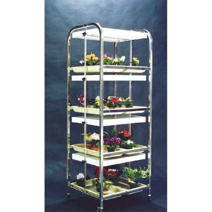 Light Cart 4 Shelf 8 Tray