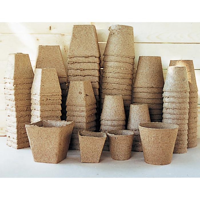 6 Inch Round Jiffy Pots