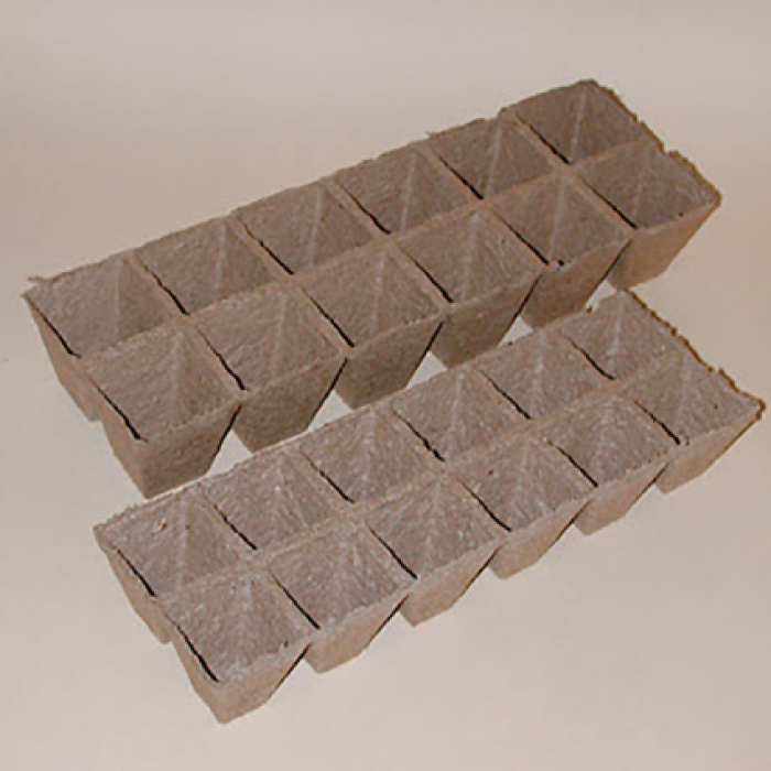2.25 Inch Square Jiffy Strips