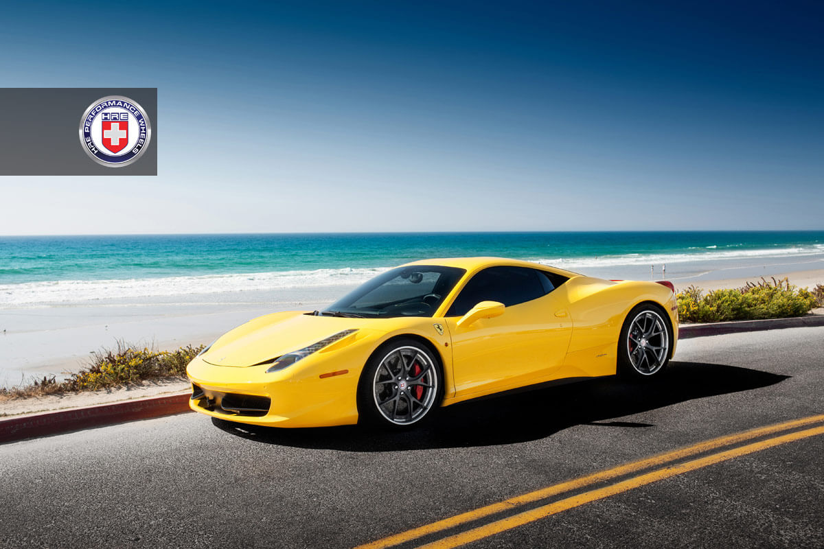 Ferrari 458 Italia With Hre S101 In Satin Charcoal Hre Performance