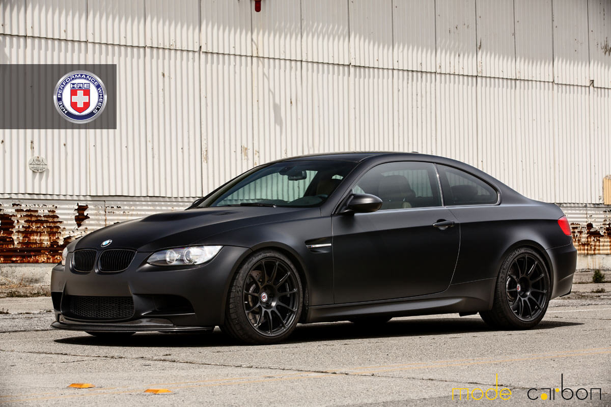 BMW M3 with HRE P43S in Satin Black | HRE Performance Wheels