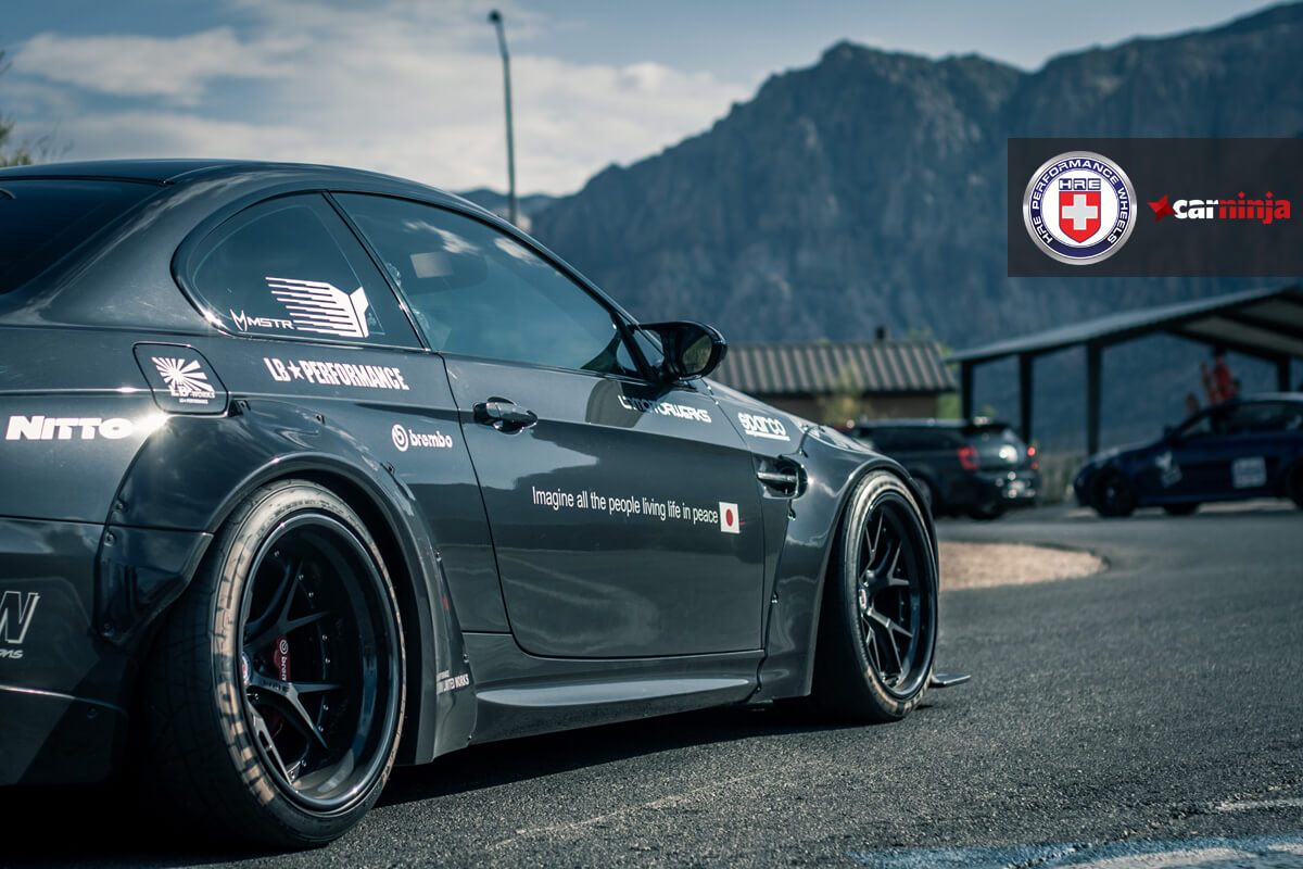 Nitto Tires With White Lettering >> Radial Ta Enhanced 1 Bmw M3 With Hre S101 In Satin Black