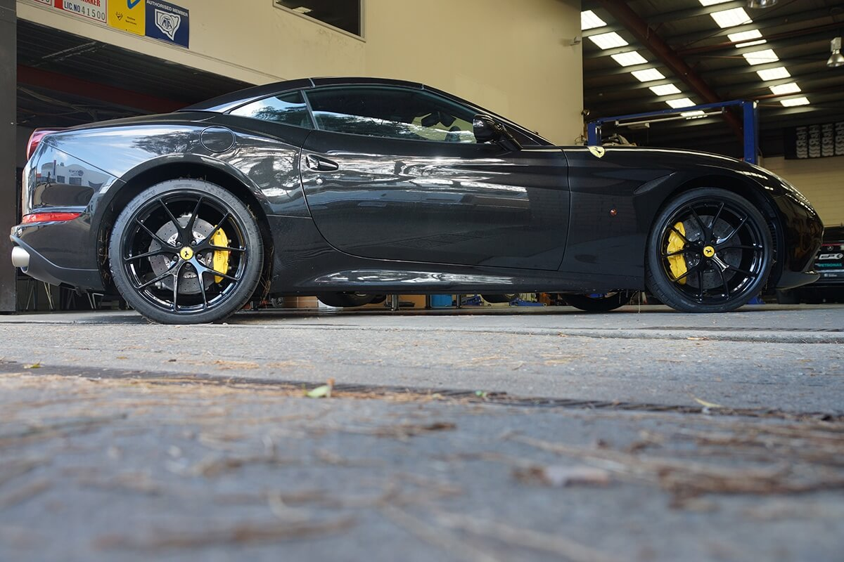 Ferrari California T With Hre P101 In Gloss Black Hre Performance