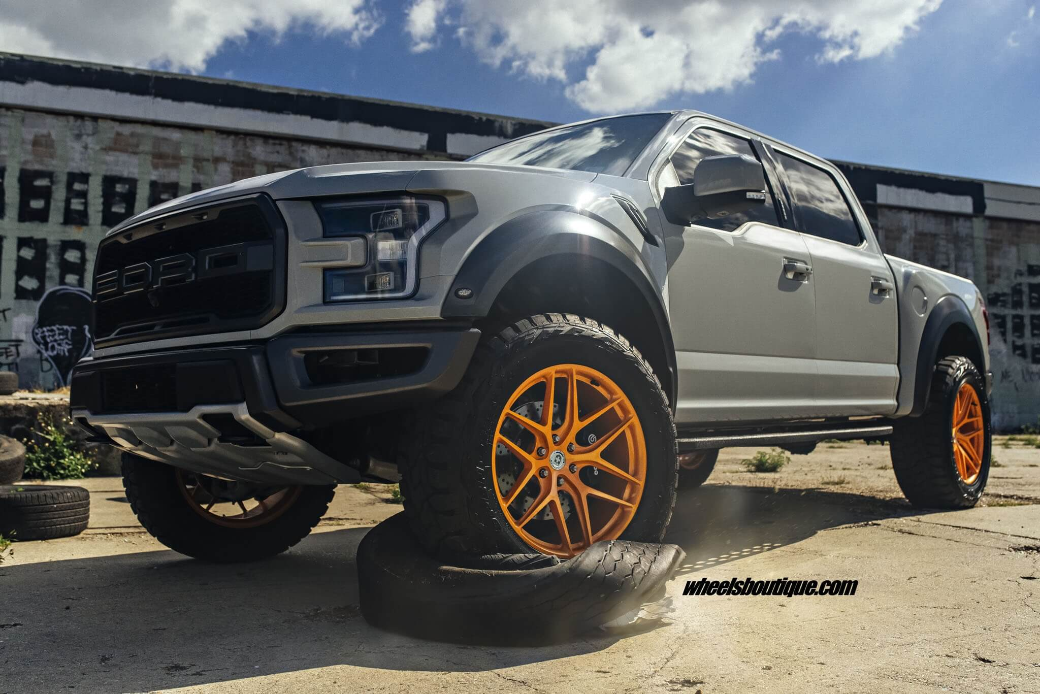 Ford F 150 Raptor with HRE P161