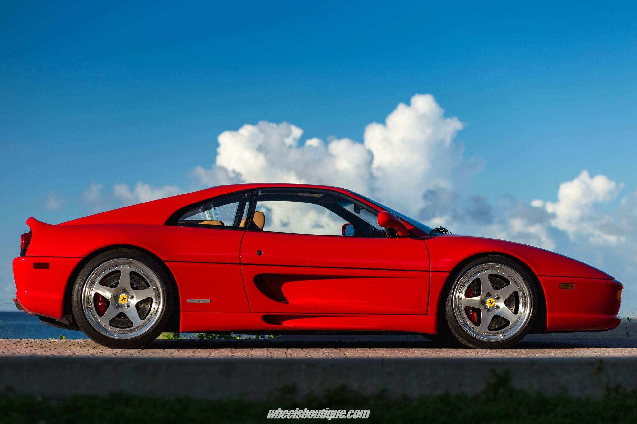 Ferrari F355 GTB with HRE Clic 305 in Brushed Clear | HRE ...