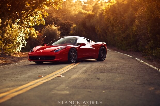 Stanceworks Video: 458 Italia From The Bronze Age on HRE