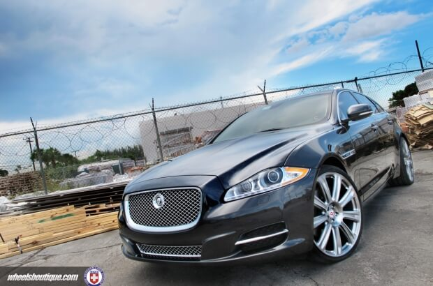 jaguar xj gets a makeover with some p93l s hre performance wheels jaguar xj gets a makeover with some