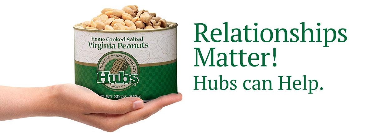 Relationships Matter! Hubs Can Help.