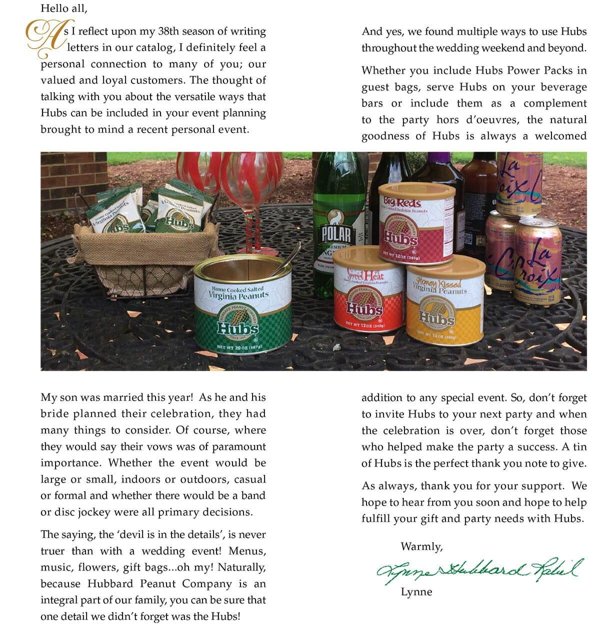 2016 Catalog Press Letter