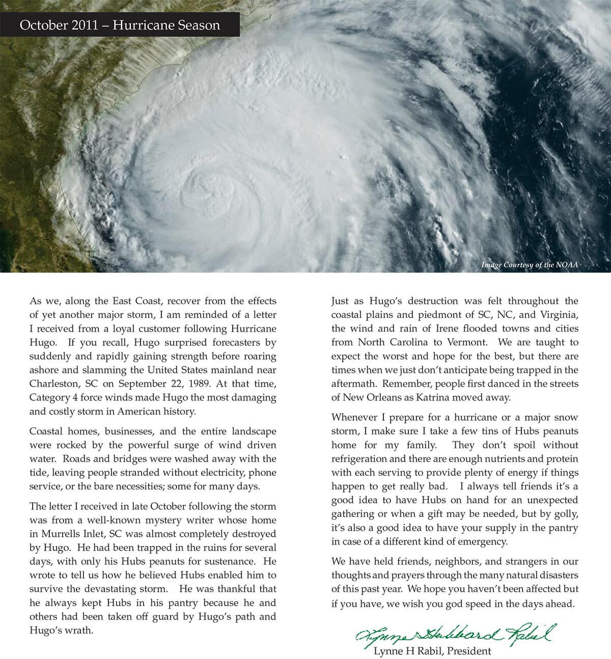 2011 Catalog Press Letter