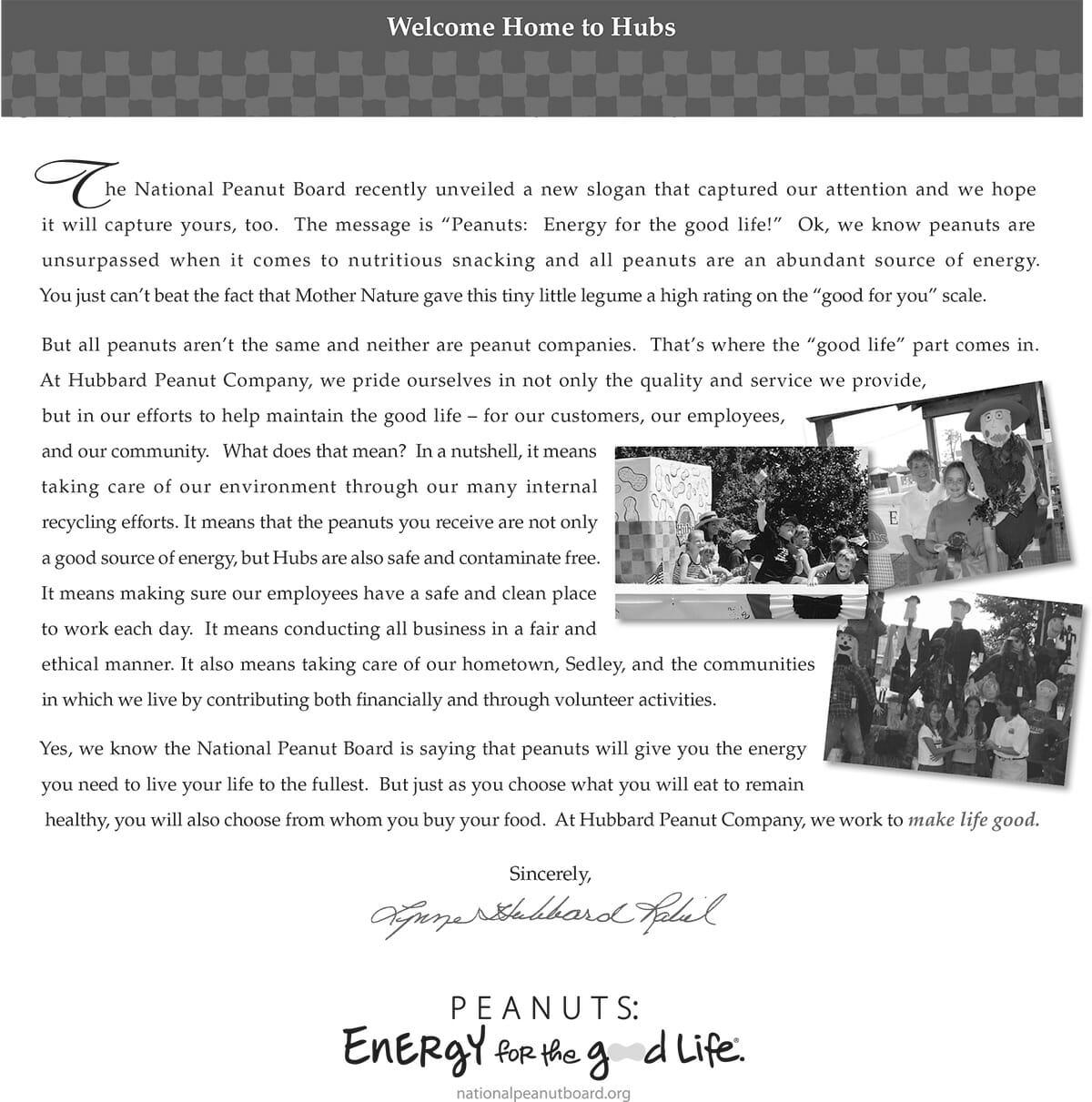 2009 Catalog Press Letter