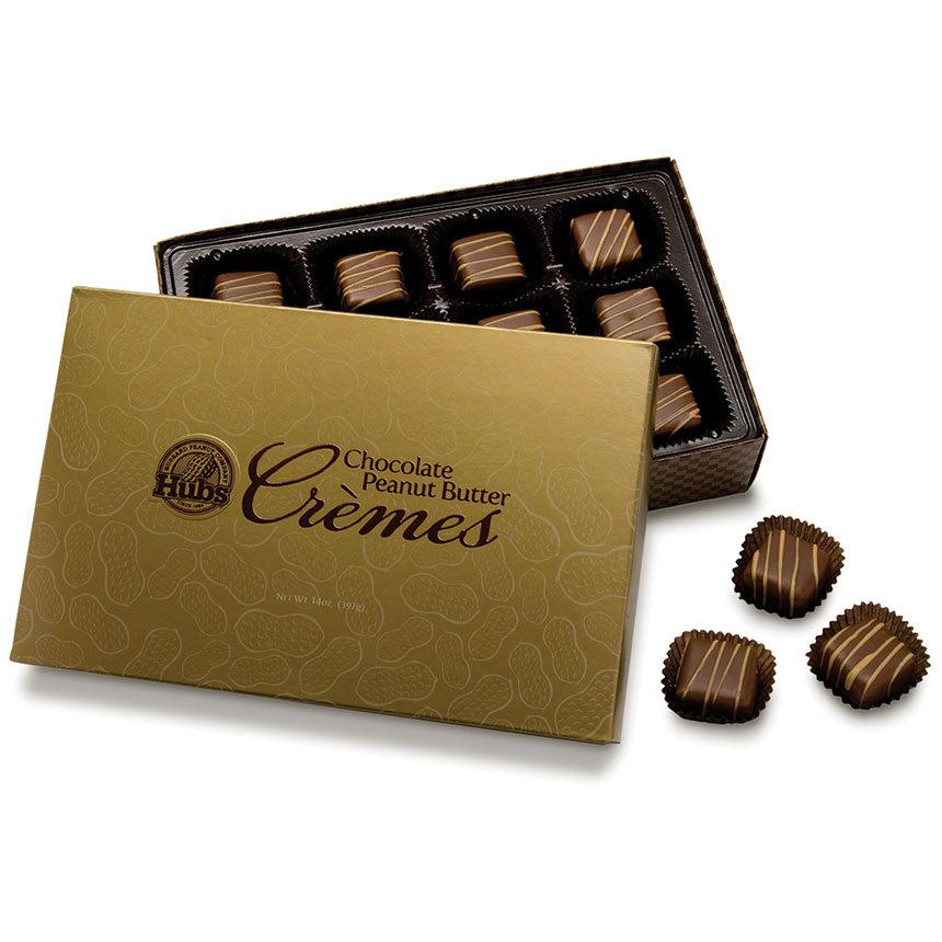 Chocolate Peanut Butter Crémes
