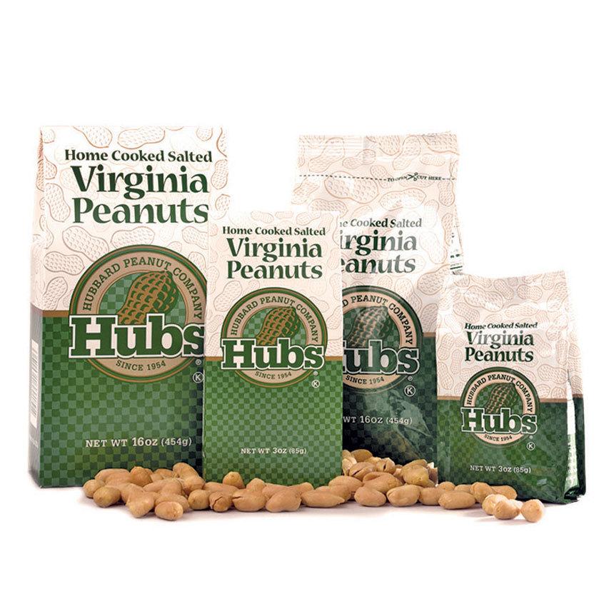 Hubs Salted Peanut Bags