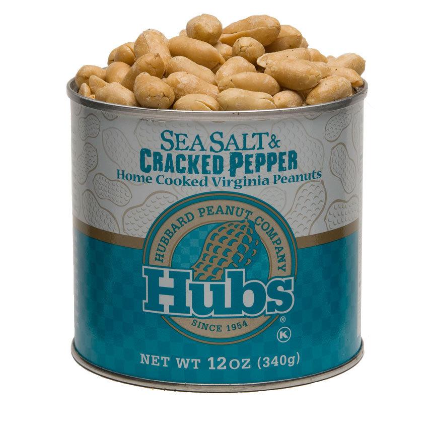 Sea Salt & Cracked Pepper Peanuts