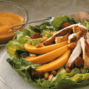 Caribbean Chicken Salad with Peanuts