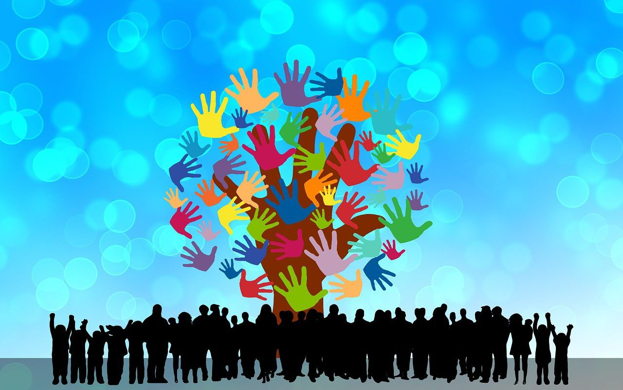 Hands Community Diversity Concept  - geralt / Pixabay