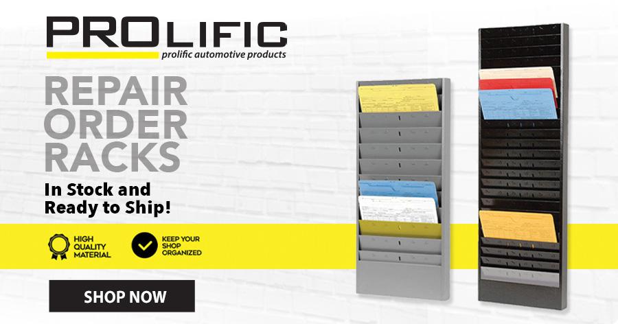 Repair Orders Racks