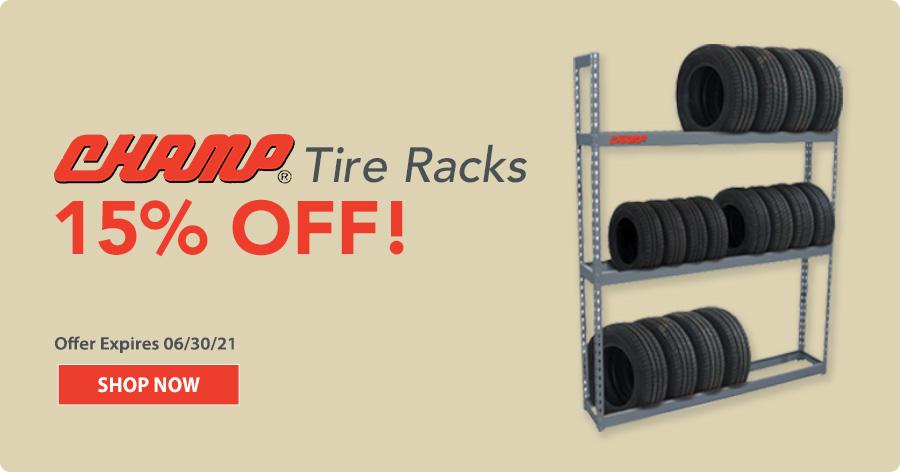 champ tire rack