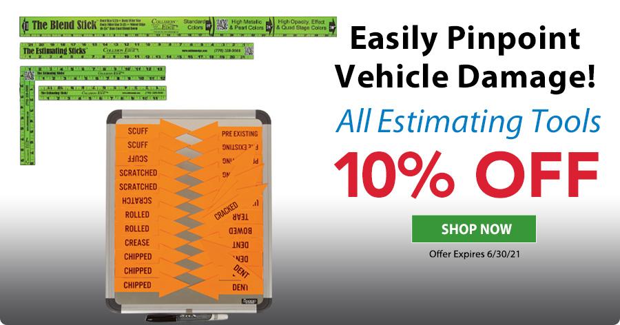 10% OFF Estimating Tools!