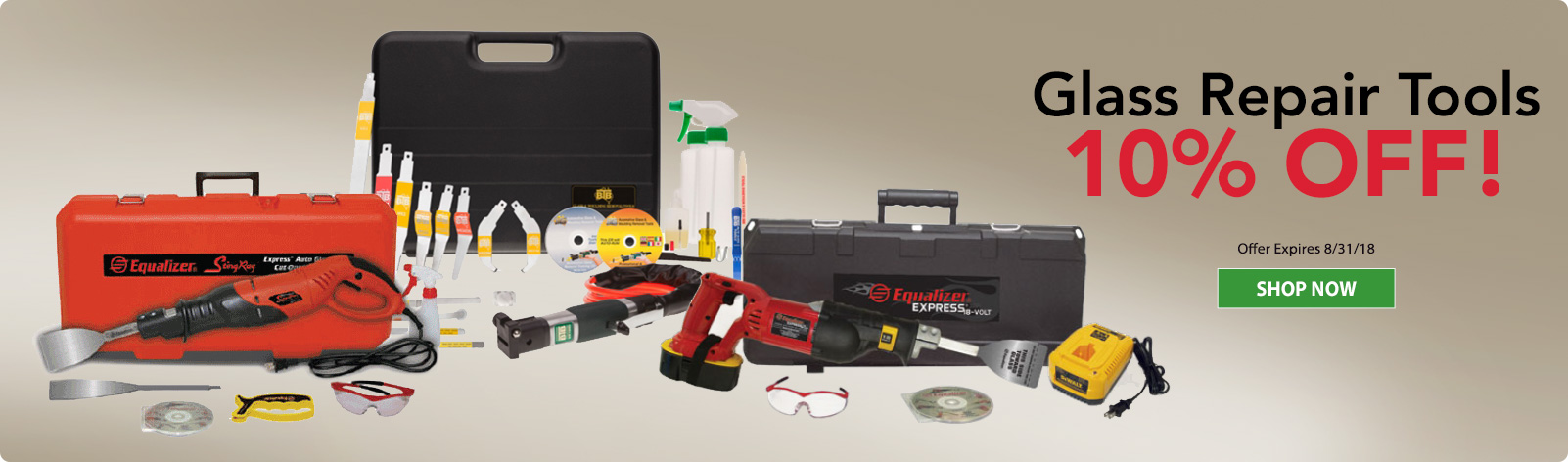 Glass Repair Tools