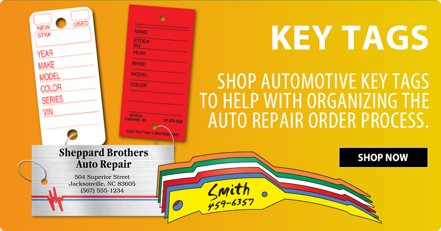 Save All Month on Key Tags!